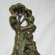 "'Great Salopia""  - Brass Door Knocker - 1915"