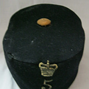 British Army Victorian Pill Box Cap