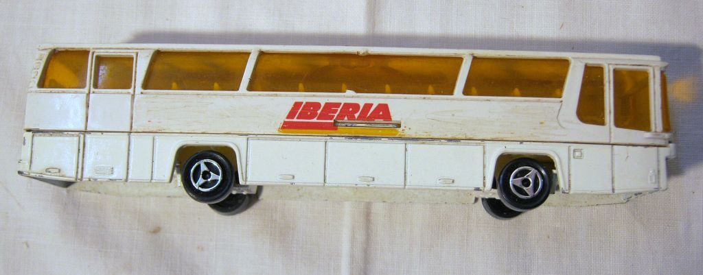 Iberia Airlines Promotional Toy Bus From Molotov On Ruby Lane