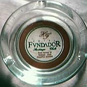 Hotel Fvndador Chile Advertising Ashtray