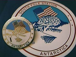 South Pole Station Antarctica Badge