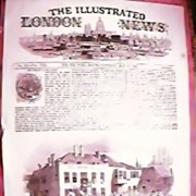 The Illustrated London News Front Page May 30th 1846