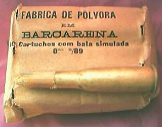 Vintage Portuguese Rifle Shell Blanks