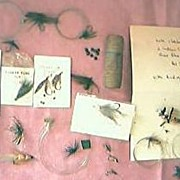 Vintage Collection of Trout Fishing Flys