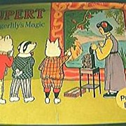 Rupert & Tigerlily's Magic Pop Up Book 1974