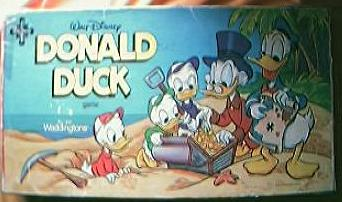Vintage Donald Duck Board Game Circa 1960's