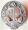 Vintage Boys Brigade Badge &quot; Sure - Stedfast&quot;