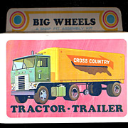 1971 Big Wheels Tractor-Trailer Mint in Box
