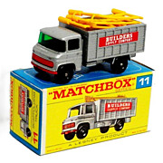 1960s Matchbox No 11 Scaffolding Truck in Box