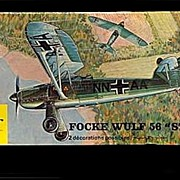 "1/72 Heller Focke Wulf 56 ""Stosser"" Model Kit"