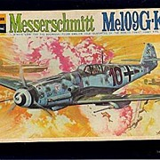 Bachmann Messerschmitt Me109G-K WWII Fighter Model Kit