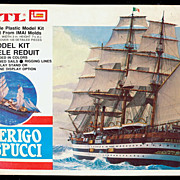 1970 Ertl Amerigo Vespucci 1/350 Ship Model Kit