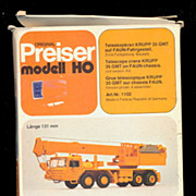 SOLD Preiser modell HO Telescope Crane Kit