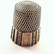 Simons Sterling Silver 10 Panel Thimble #3
