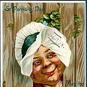 1907 Tucks Series St. Patrick�s Day Crone Postcard