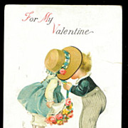 Ellen Clapsaddle Valentines Children 1918 Postcard