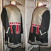 Order of Odd Fellows Medieval Masonic Guard Coat circa 1910