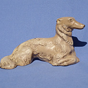 1930 Hubley cast iron Borzoi