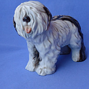 vintage Old English sheepdog Cacciapuoti Italy 7&quot; OES