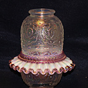 Fenton Persian Medallion Carnival Fairy Lamp