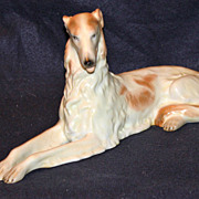 Herend Borzoi Dog Figurine #5227