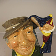 Royal Doulton Large Toby Mug - Punch and Judy Man - D6590