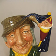 Royal Doulton Small Toby Jug - Punch and Judy Man - D6593