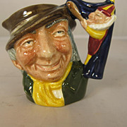 Royal Doulton Miniature Toby Jug - Punch and Judy Man - D6596
