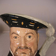 Royal Doulton Large Toby Jugs - Henry VIII - D6642