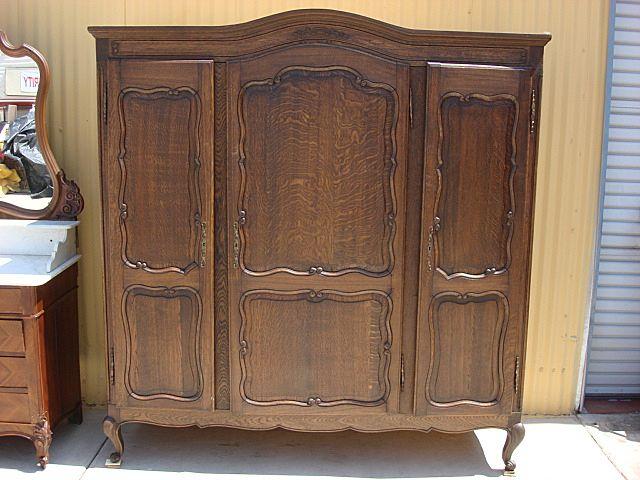 Wardrobe closet furniture antique