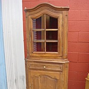 French Antique Corner Cabinet Rustic French Antique Furniture