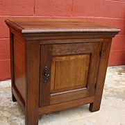 French Antique Rustic Cabinet Antique Side Table Antique Furniture