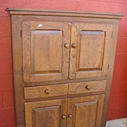 French Antique  Rustic Cabinet Rustic Cupboard Antique Furniture