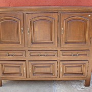 Vintage French Rustic Cabinet French Cupboard Vintage French Furniture