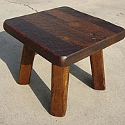 French Antique Rustic Coffee Table Side Table Stool Stand Antique Furniture