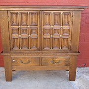 Spanis Antique Rustic Cabinet Antique Cupboard Antique Furniture
