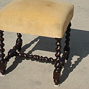 French Antique Foot Stool Antique Bench Ottoman Antique Furniture