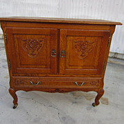 Vintage French Cabinet Bar Two Door Cupboard Vintage French Furniture