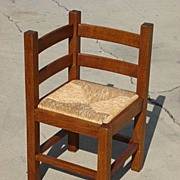 French Antique Rustic Corner Chair Antique Furniture