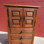 French Antique Rustic Cabinet Cupboard Dresser Antique Furniture