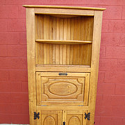 French Antique Corner Cabinet Rustic Antique Furniture