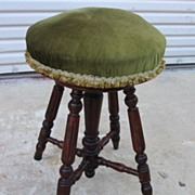 French Antique Piano Stool Bench Antique Furniture
