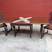 French Antique Dining Table Library Table Desk Antique Dining Room Furniture