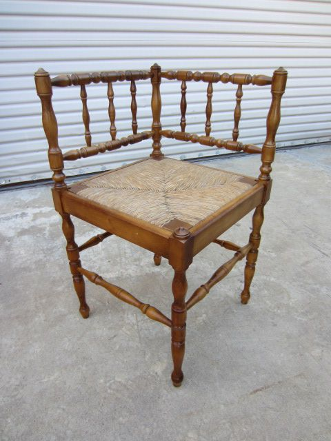 French Antique Corner Chair Accent Chair French Antique Furniture