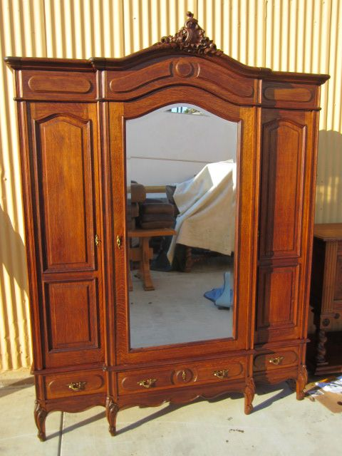 French Antique Armoire Wardrobe Antique Bedroom Furniture From