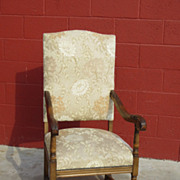 French Antique Armchair Antique Chair Antique Louis XIV Furniture