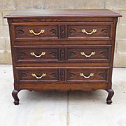 French Antique Dresser Chest of Drawers
