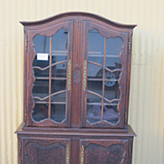 French Antique Display Cabinet Bookcase China Cabinet Antique Furniture