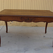 French Antique Furniture French Antique Table Library Table Desk
