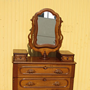 Antique American Victorian Chest of Drawers Dresser Antique Furniture